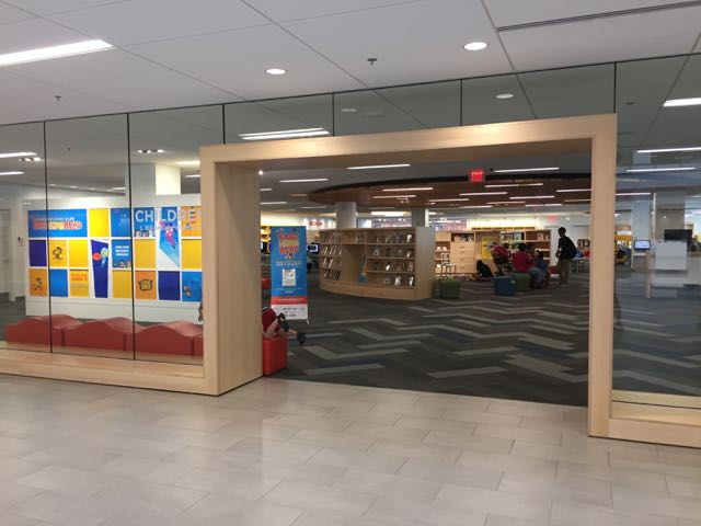 entrance to the Children's Department at Columbus Metropolitan Library