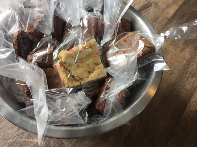 Bowl of Brownies