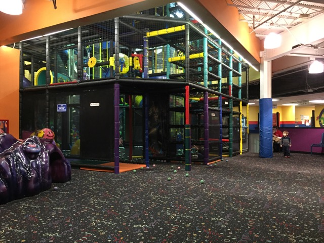 Kids Gym at Magic Mountain Polaris, Ohio