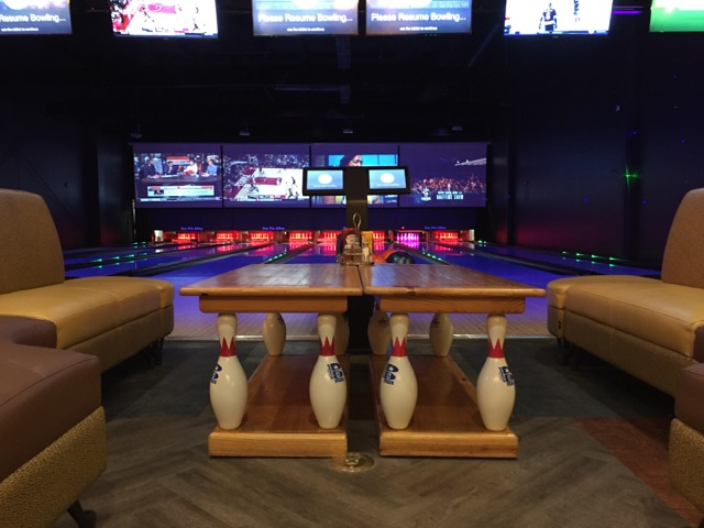 Bowling Alley at Ten Pin Alley, Hilliard, Ohio