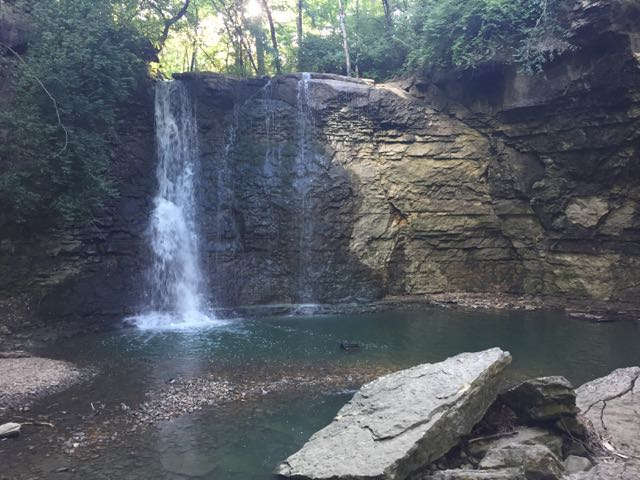 Waterfall at Hayden Falls, Dublin, Ohio