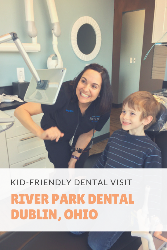 kid at River Park Dental