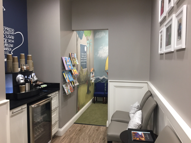 Waiting Room at River Park Dental