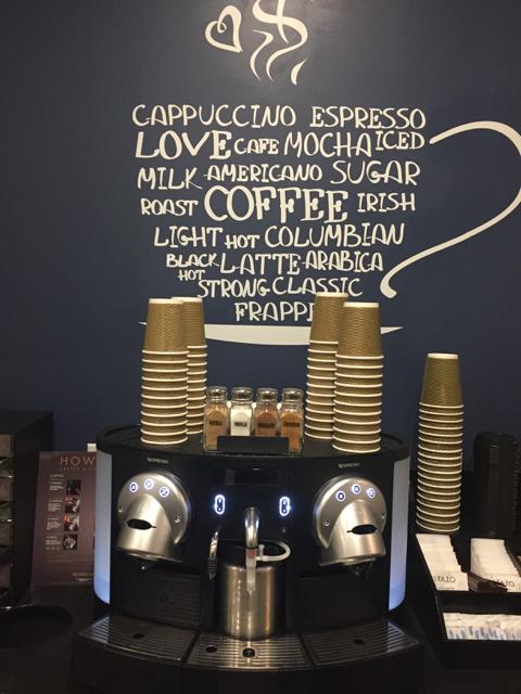 Coffee Bar at River park Dental
