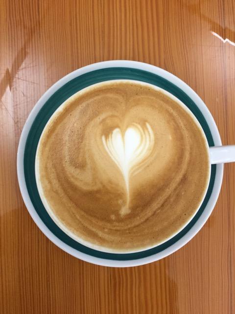 Coffee mug at The Roosevelt Coffee House