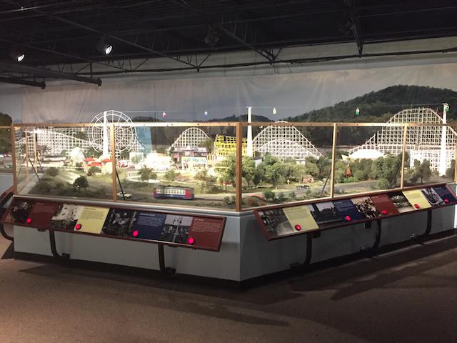 Coney Island display at EnterTRAINment Junction