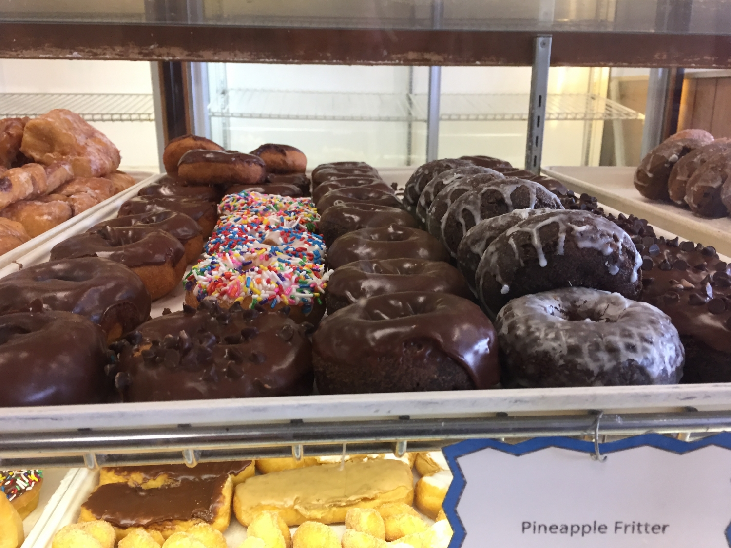 donuts at Stan the Donut Man