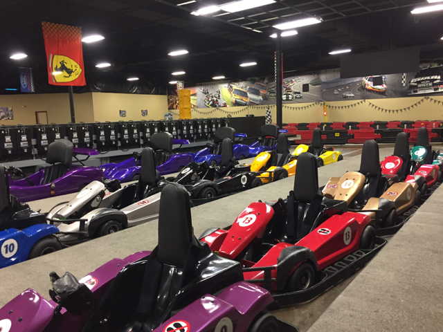 Go Karts at The WEB
