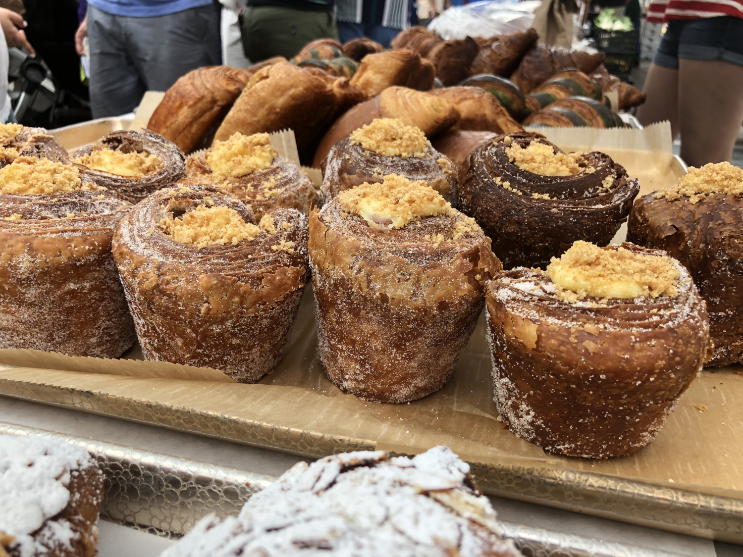 Baked goods at The Dublin Market