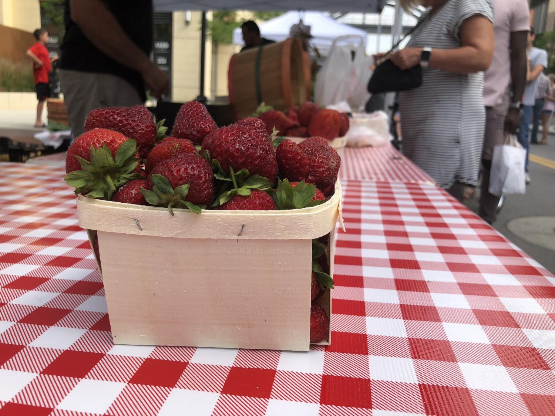 Strawberries at The Dublin Market