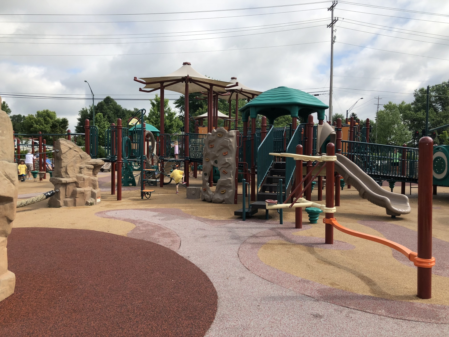 accessible park in Westerville, Ohio