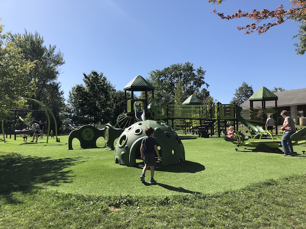 accessible park in London, Ohio: Cowling Park