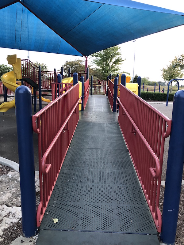Miracle Playground at Darree Fields in Dublin, Ohio