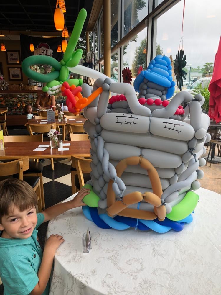 kids entertainment at chocolate cafe columbus ohio