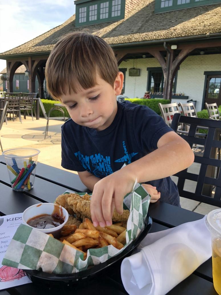 Kids Eat Free Golf Club of Dublin ohio