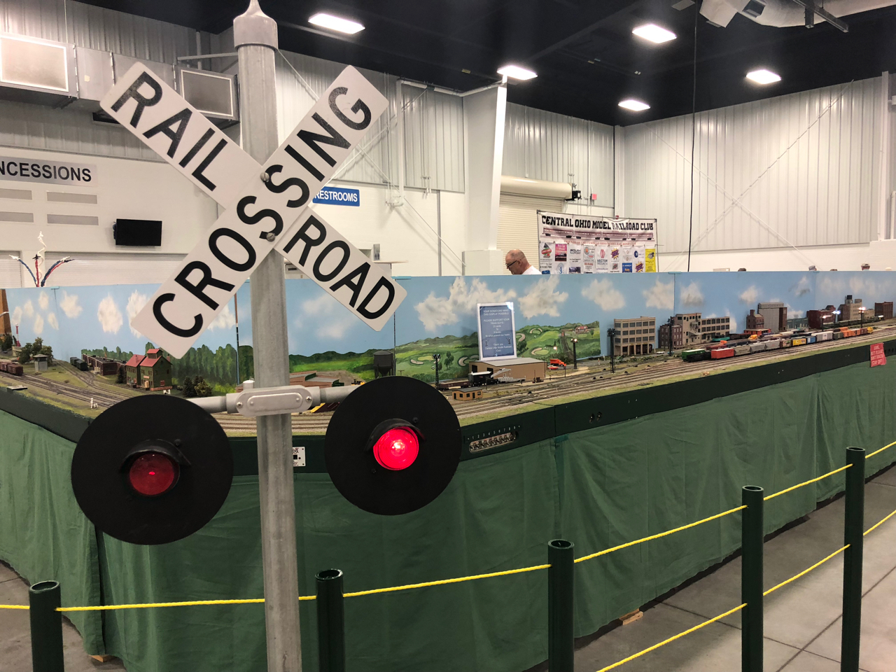 Model Train at Ohio State Fair