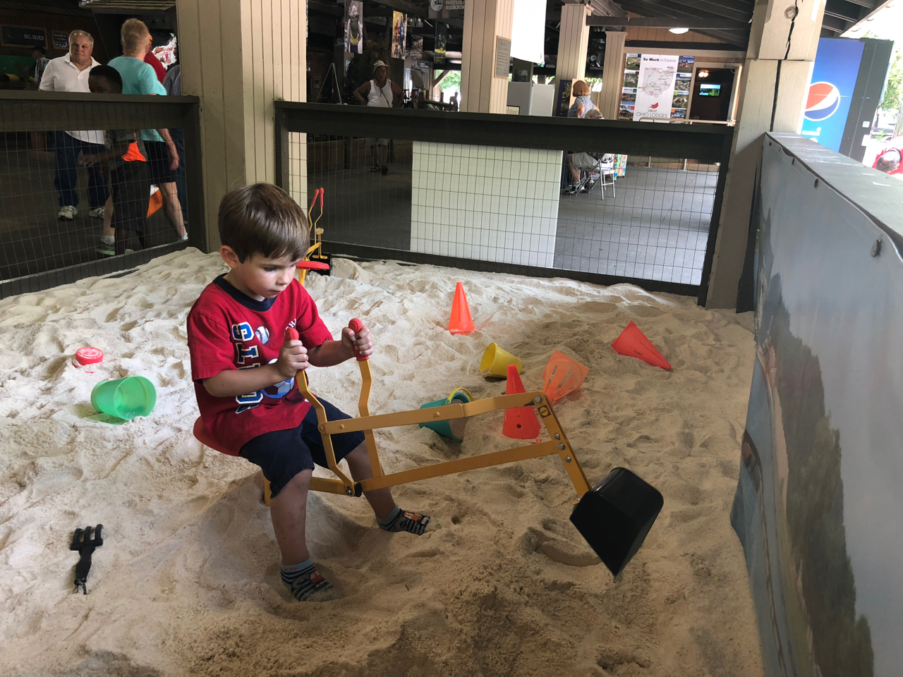 Sand Box at Natural Resources Park at Ohio State Fair