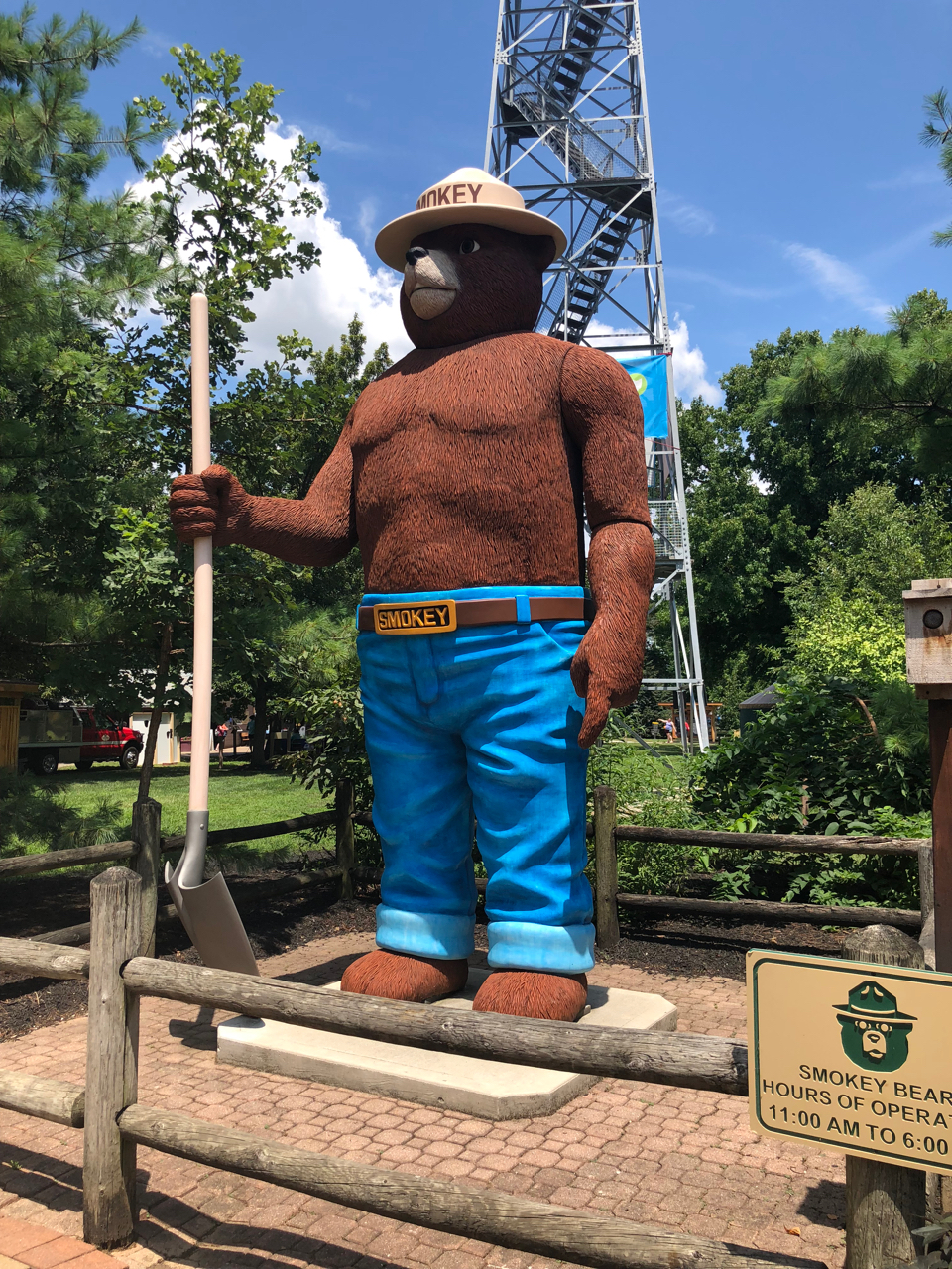 Smokey Bear at Ohio State Fair
