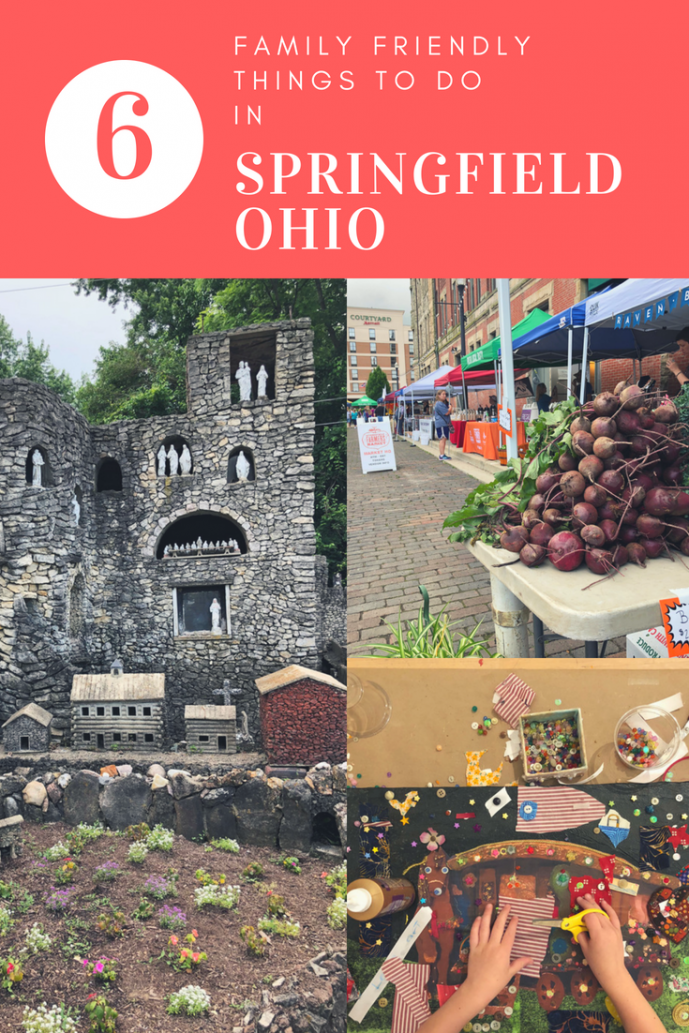 Just 45 minutes from Columbus, Springfield, Ohio makes an easy day trip or overnight road trip! In this post you will find 6 family friendly things to do in Springfield, Ohio plus where to eat and sleep!