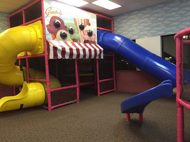 Scoops and Chutes Play Place in Columbus, Ohio