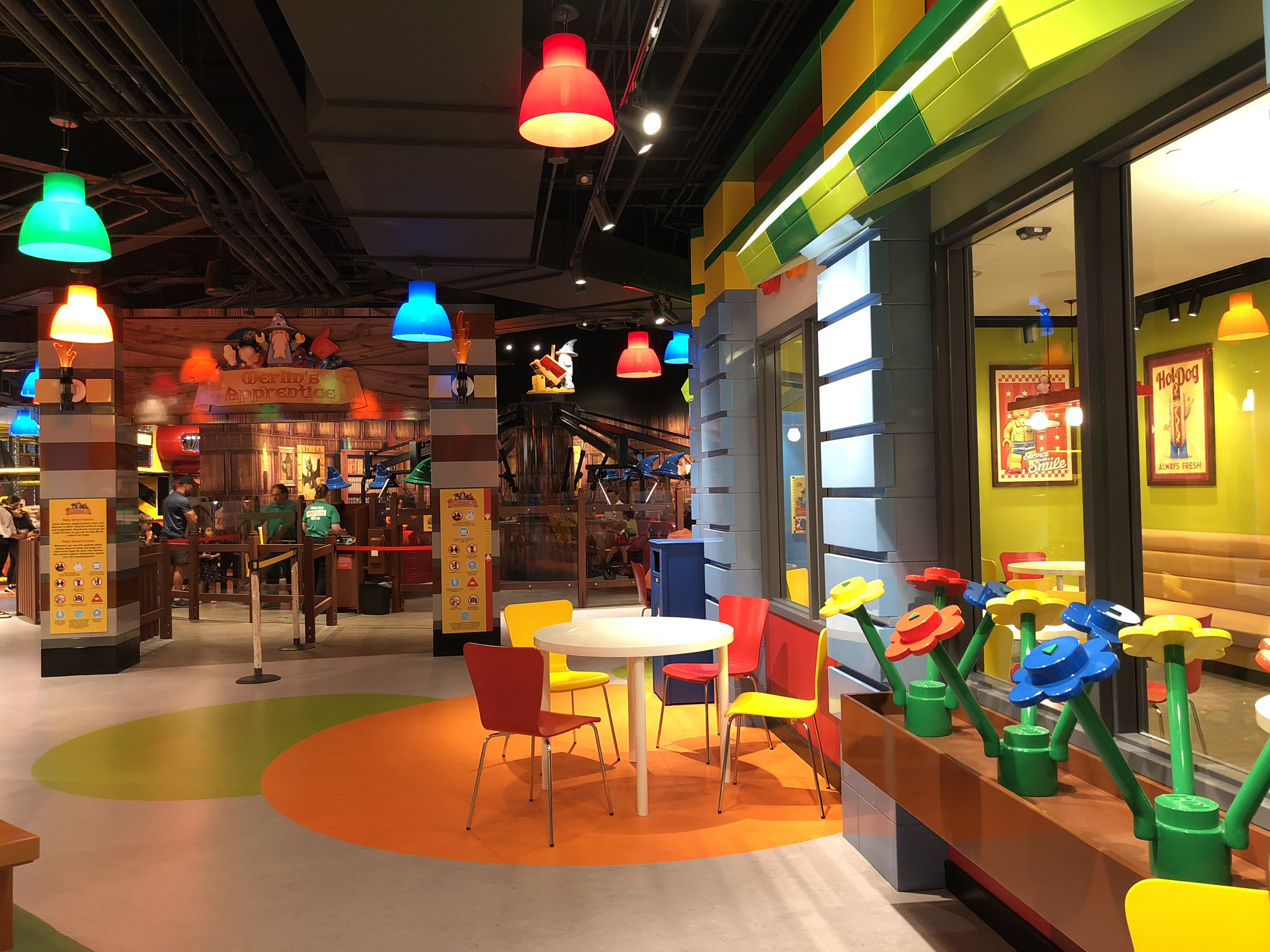 LEGOLAND Columbus Cafe