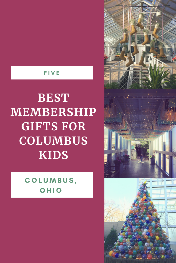 5 Best Membership Gifts for Columbus Kids