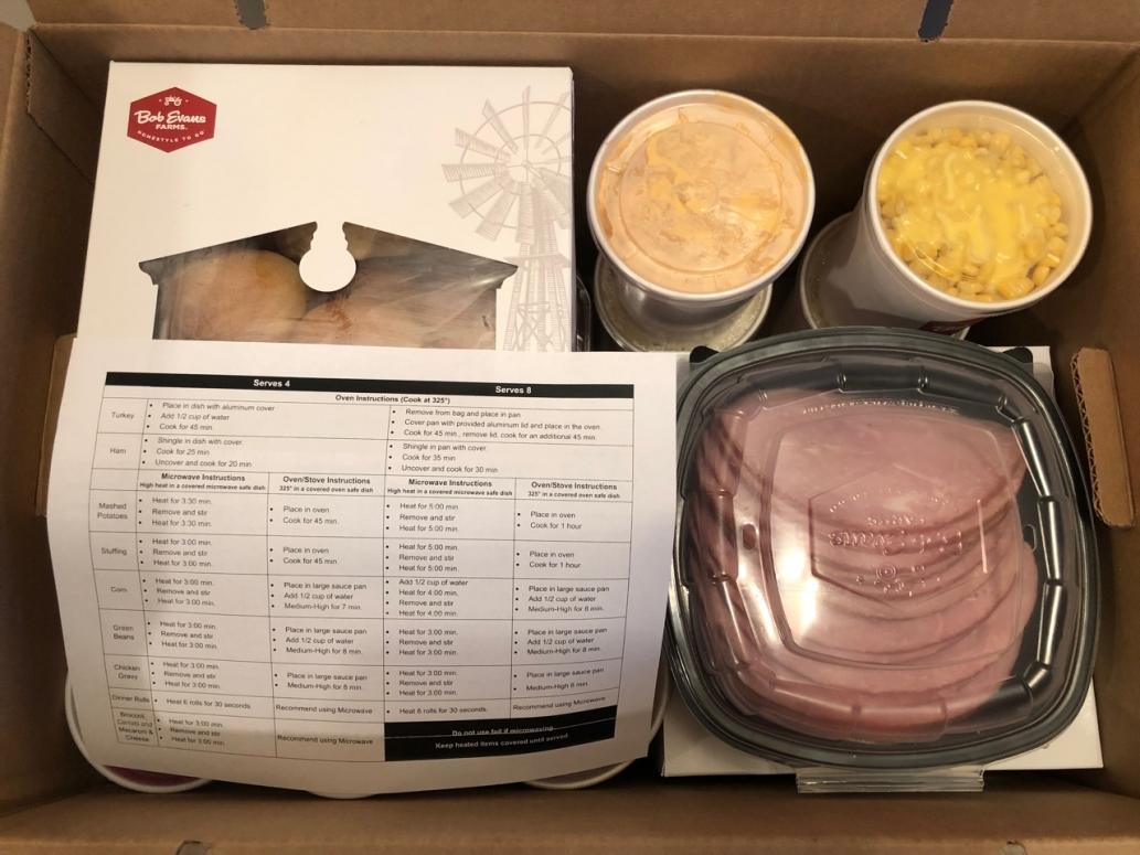 Bob Evans Farmhouse Feast in Box