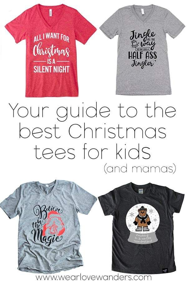 Christmas Tees for Kids