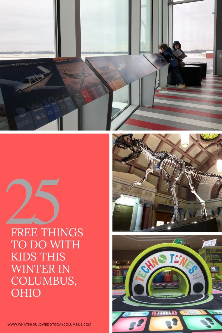 25 Free Things to do with Kids in Columbus, Ohio this Winter