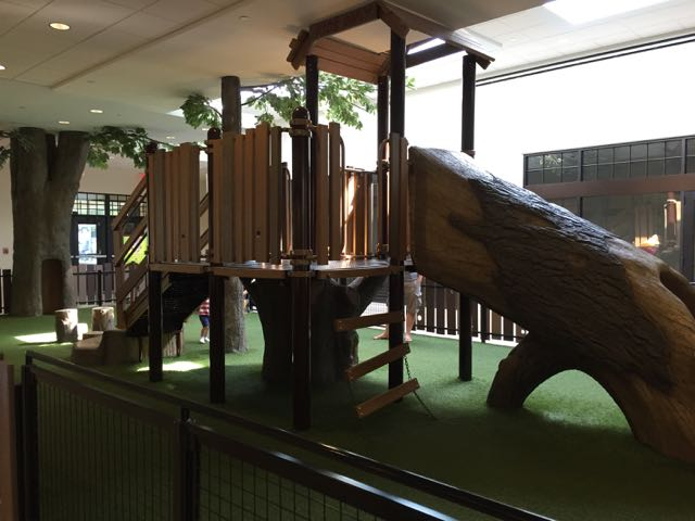indoor play area at the shops at worthington place