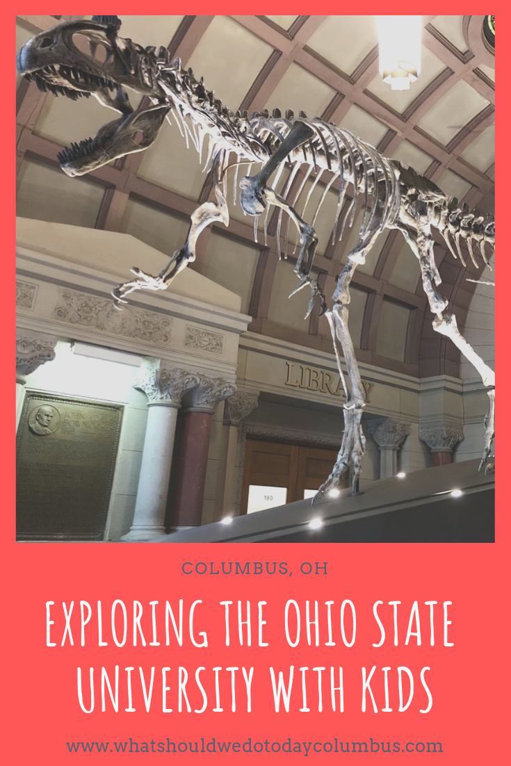 Exploring the Ohio State University With Kids