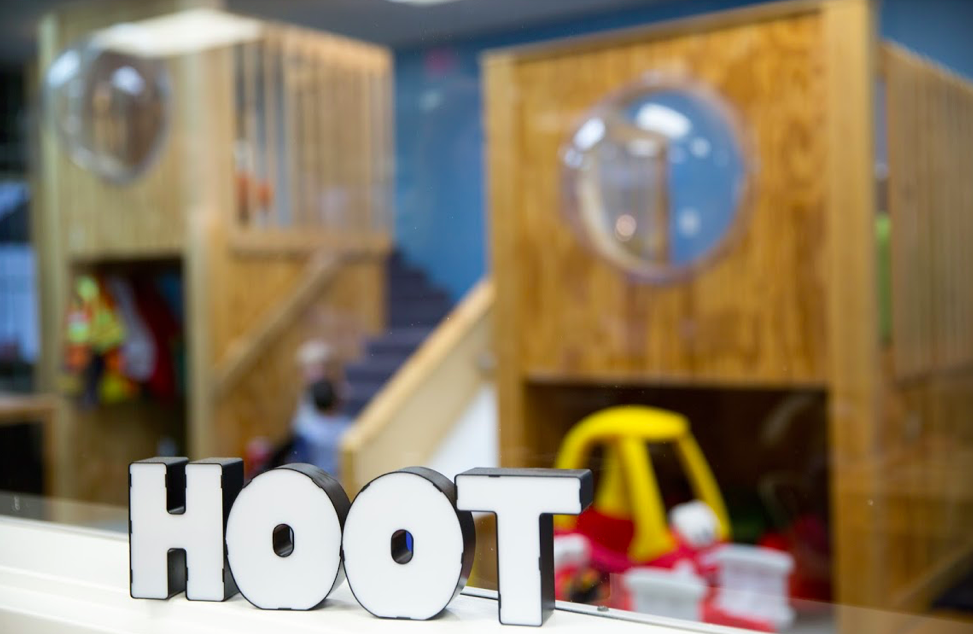 Hoot Studio, indoor play cafe, Columbus, Ohio