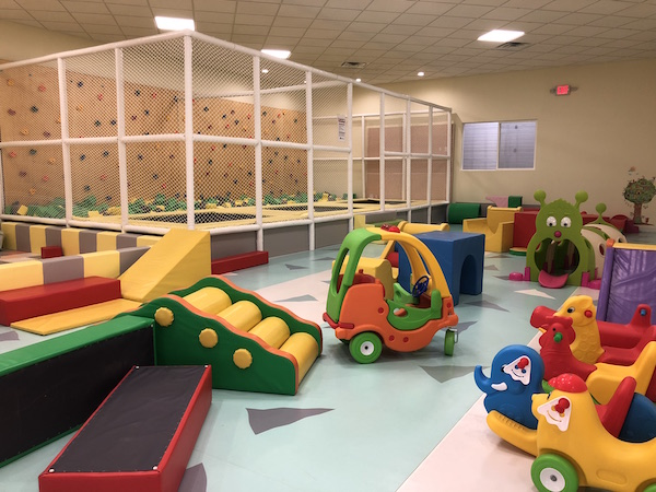 play area for toddlers at Momi Land Play Cafe