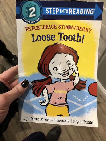 Loose tooth book for first readers