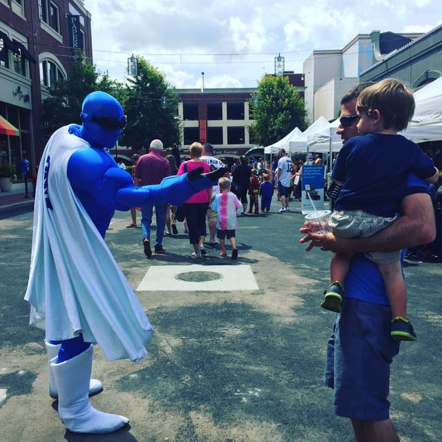 Superhero Day at Easton Town Center, Columbus, Ohio