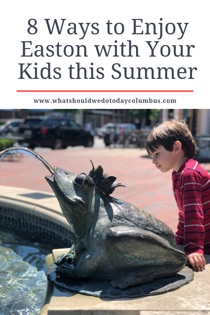 8 Ways to Enjoy Easton with Your Kids this Summer