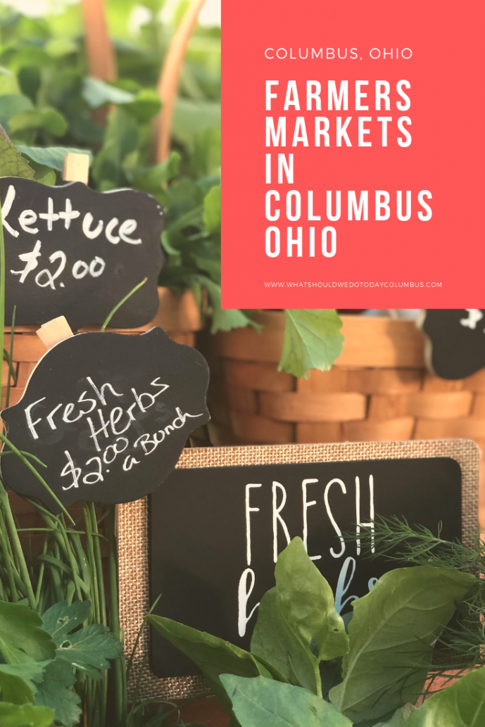 farmers markets in columbus ohio