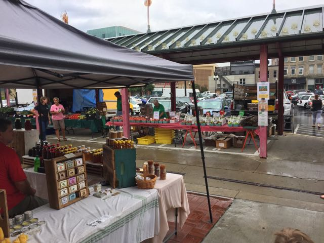 farmers market at the North Market in Columbus, Ohio