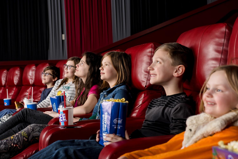 kids at Marcus Theatres Columbus Ohio