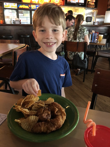 kid-friendly meal at Melt Bar and Grilled at Easton Town Center, Columbus, Ohio