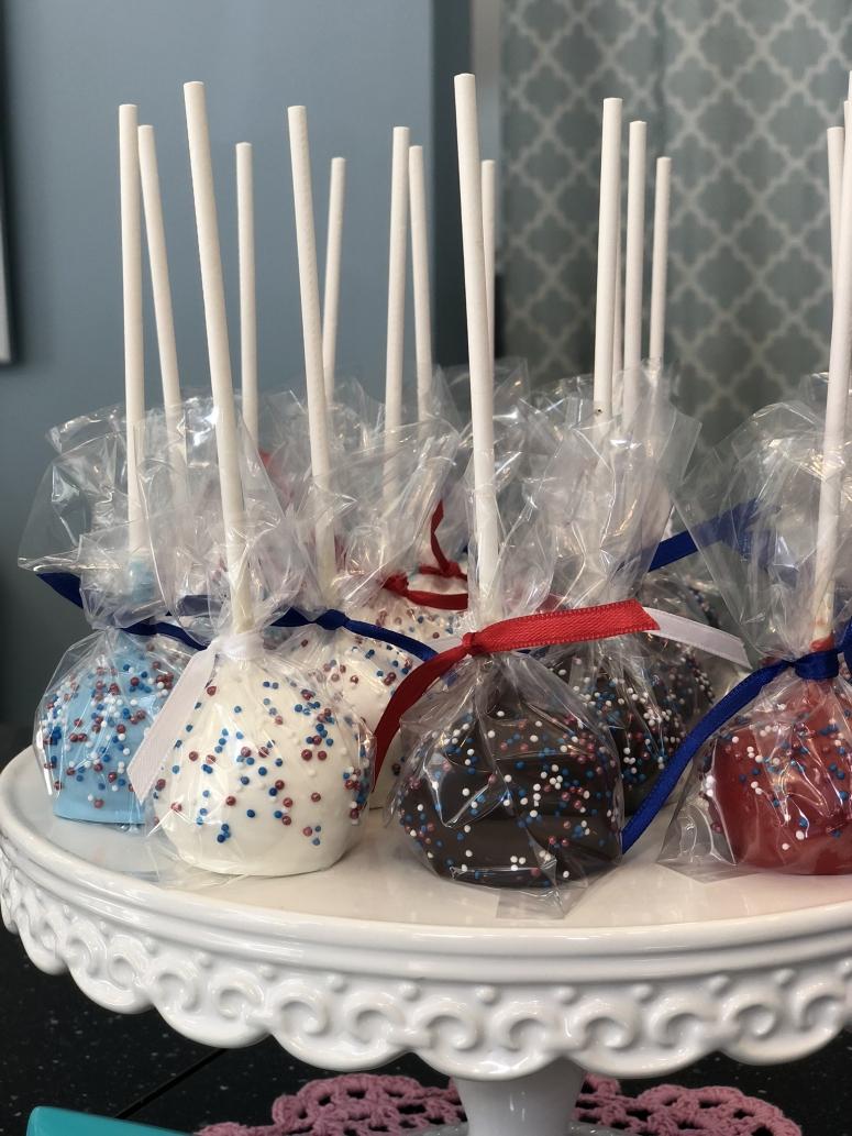 cake pops at Koko Tea Salon and Bakery