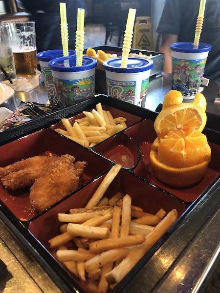 kids meal at Kona Grill at Easton Town Center, Columbus, Ohio