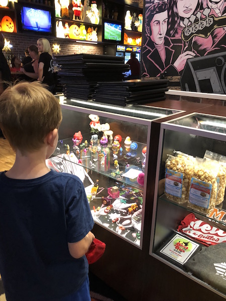 kid at Melt Bar and Grilled at Easton Town Center