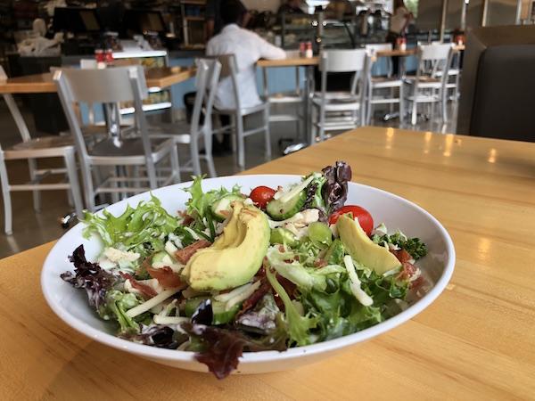salad at Cafe Zupas at Easton Town Center, Columbus, Ohio