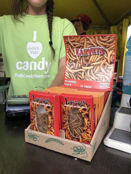 larvets at the Ohio State Fair, Columbus, Ohio