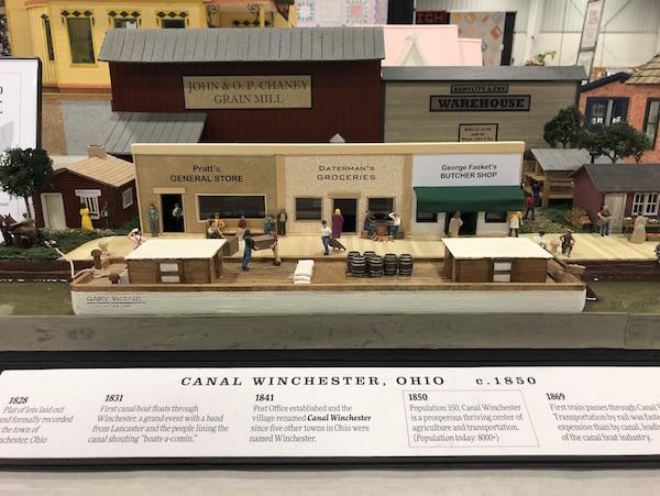 model train at the Ohio State Fair, Columbus, Ohio