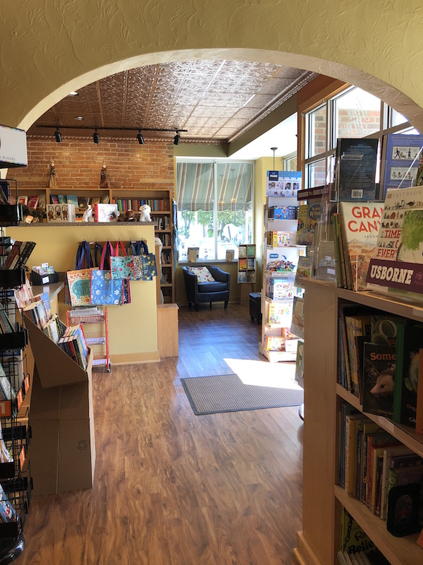 the fine print bookstore at Lakeside Ohio