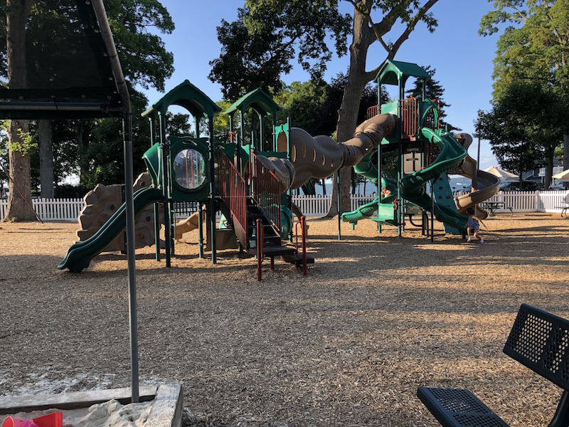 supervised playground at Lakeside Ohio