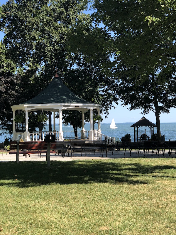 gazebo at Lakeside, Ohio