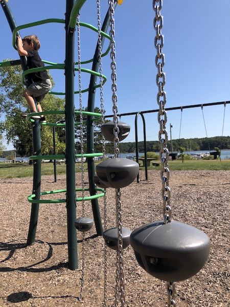 playground at Hoover Reservoir, Westerville Ohio